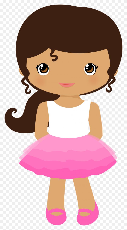 Girl Clipart Baby Shower - Girl Monkey Clipart
