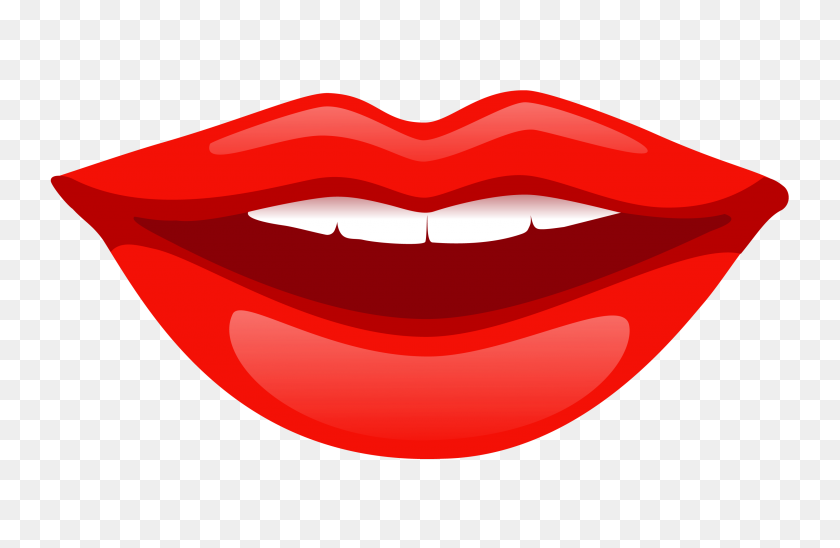 Girl Clipart Lip - Lip PNG