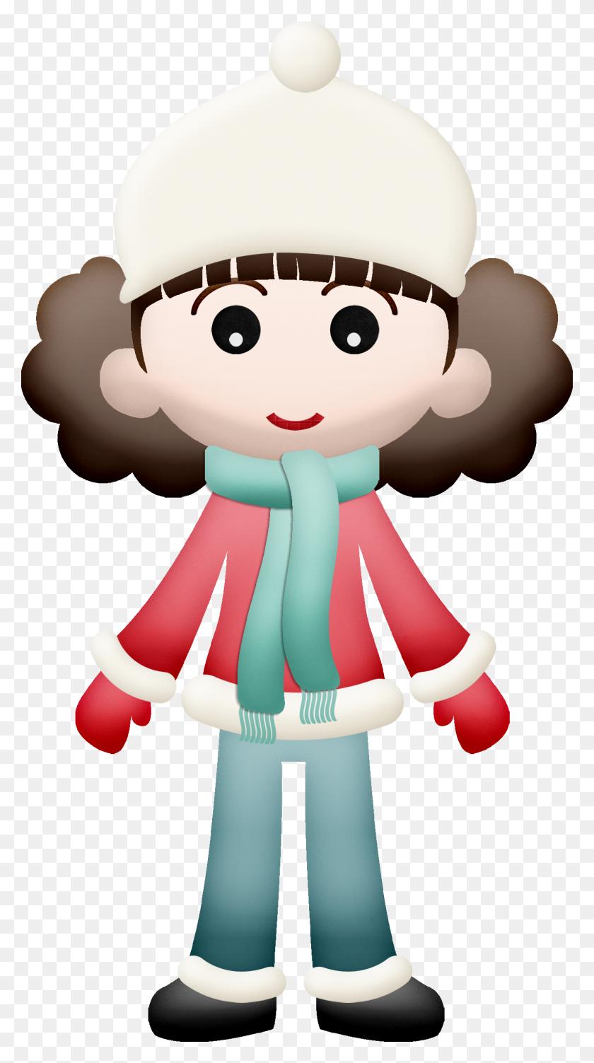 Girl Clipart Winter - Fashion Girl Clipart