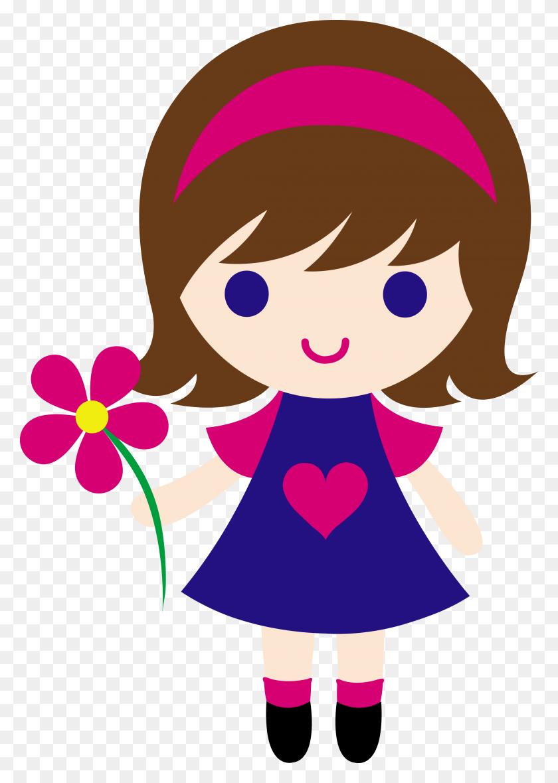 Girl Flexing Cliparts - Flexing Arm Clipart