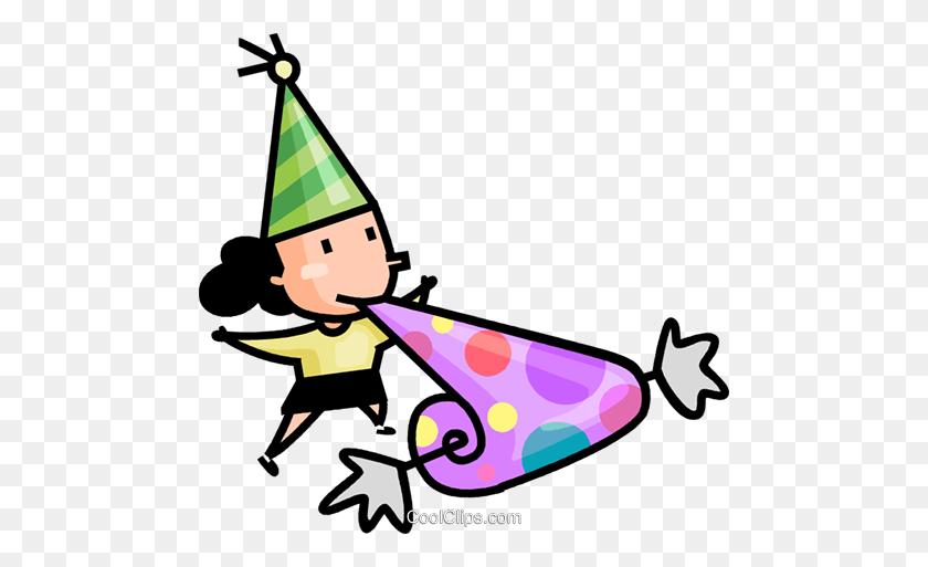 480x453 Girl Having Fun - Free Clipart Birthday Celebration