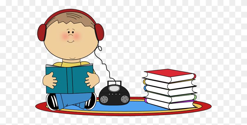 Girl Reading A Book Clipart - Girl Reading A Book Clipart