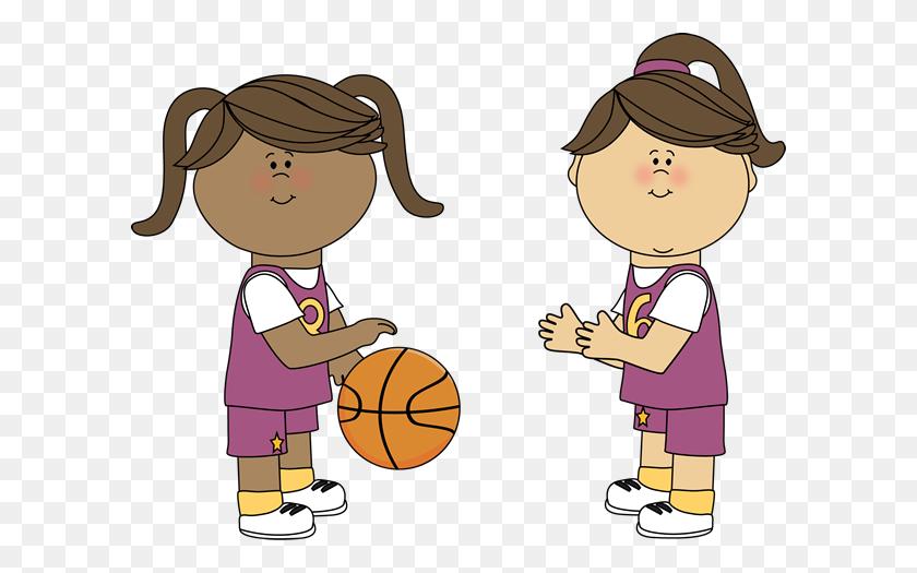 Girls Basketball Clip Art Look At Girls Basketball Clip Art Clip - Slam Dunk Clipart