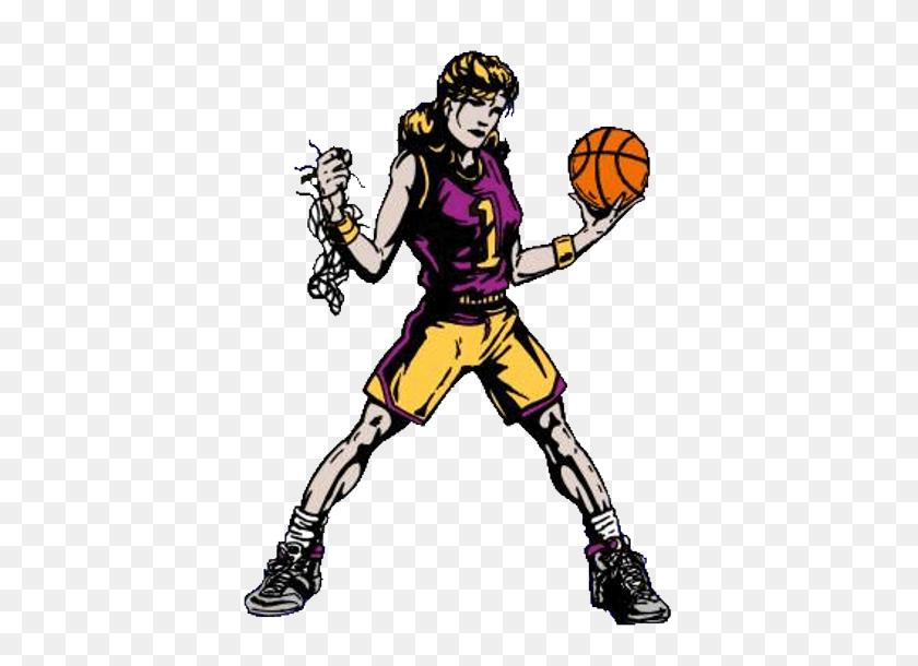 Girls Basketball High School Clipart - High School Clipart