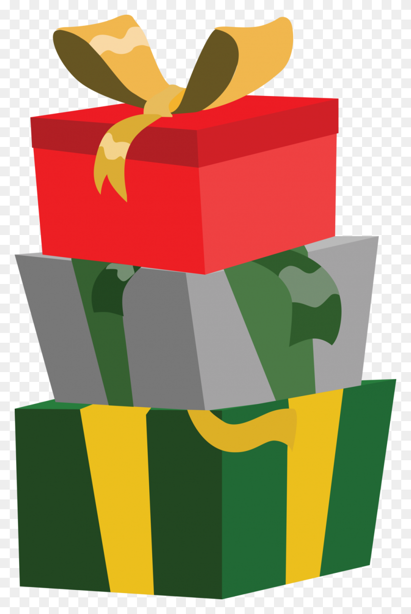Give The Gift The Fitlife - Christmas Presents PNG