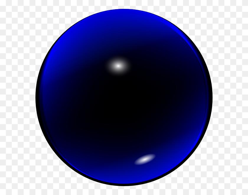 Glass Blue Ball Clip Art Free Vector - Snow Globe Clipart