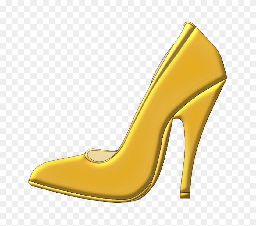 800x701 Glittery Sparkly Black High Heel Womans Shoe Clip Art Digital - Court Clipart