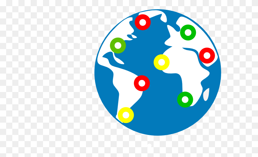 Global Icon Clip Art - World Flags Clipart