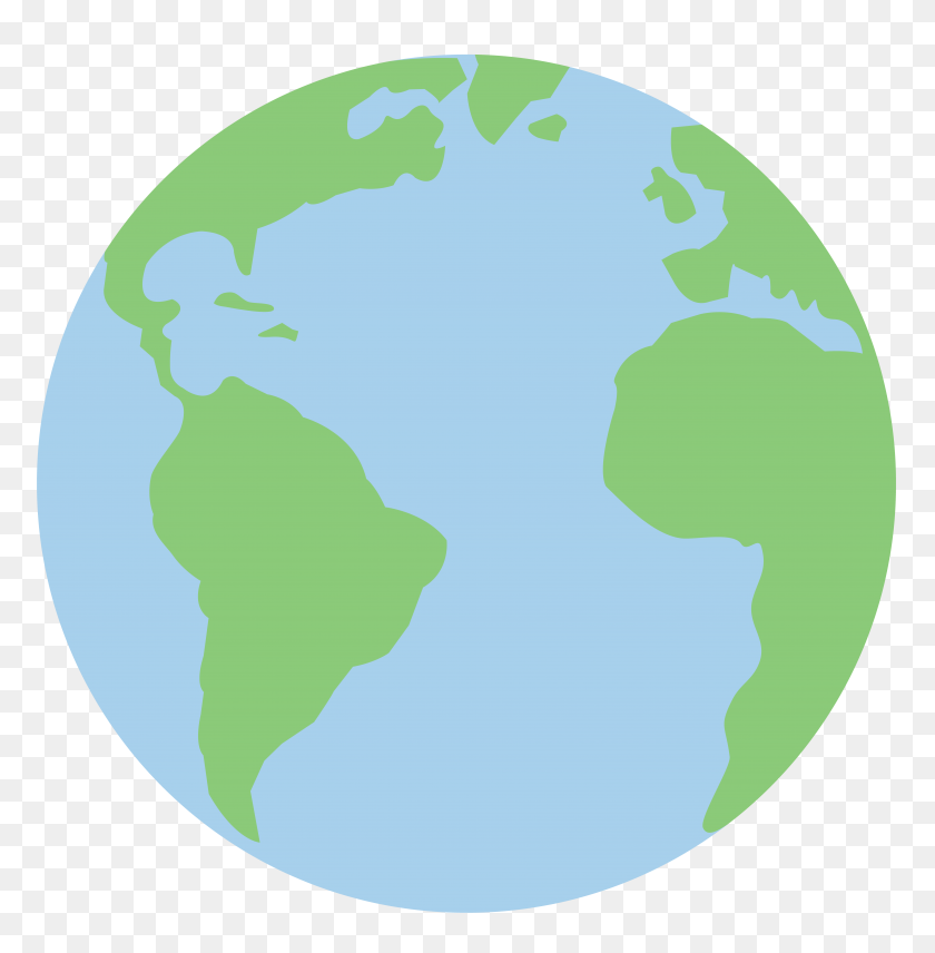 Globe Clipart Colored - Snow Globe Clipart