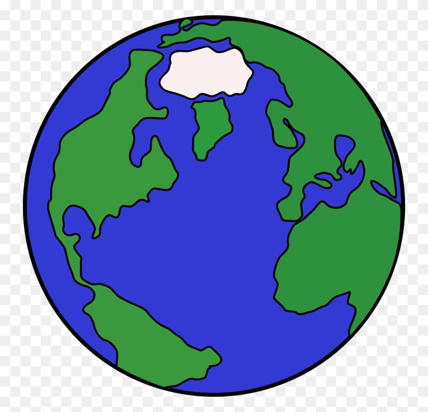 Globe Earth Cartoon Drawing Planet - Snow Globe Clipart