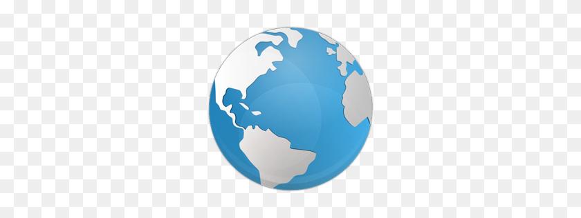 Globe Icon Blue Bits Iconset Icojam - Globe Icon PNG