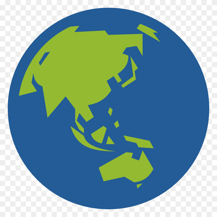 Globe Icon Facing Asia And Australia Icons Png - Globe Icon PNG