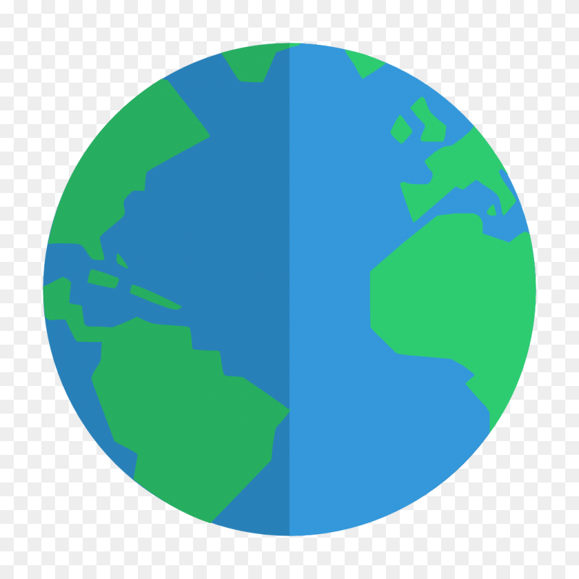 Globe Icon Small Flat Iconset Paomedia - Globe Icon PNG