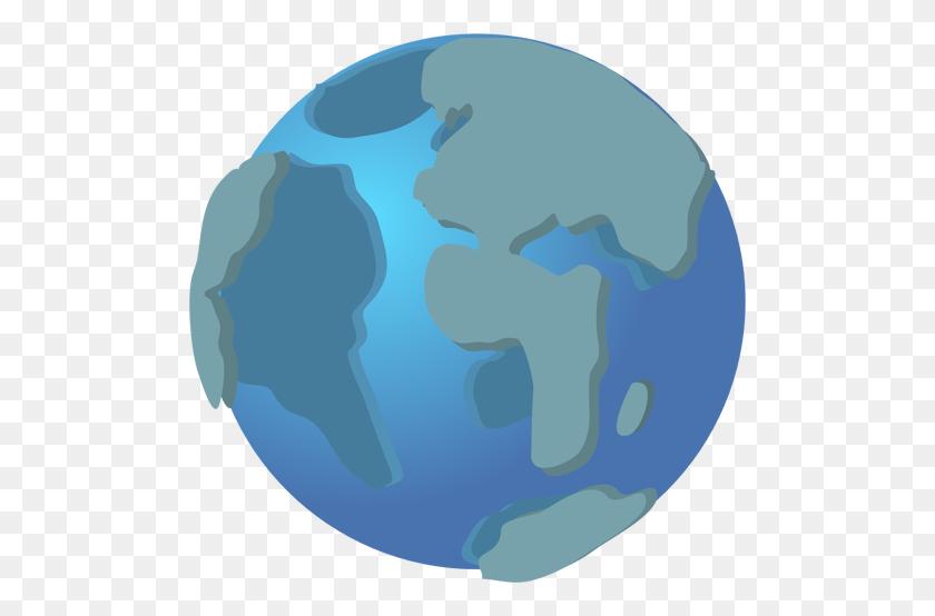 500x494 Globe Icon Vector Clip Art - Asia Clipart