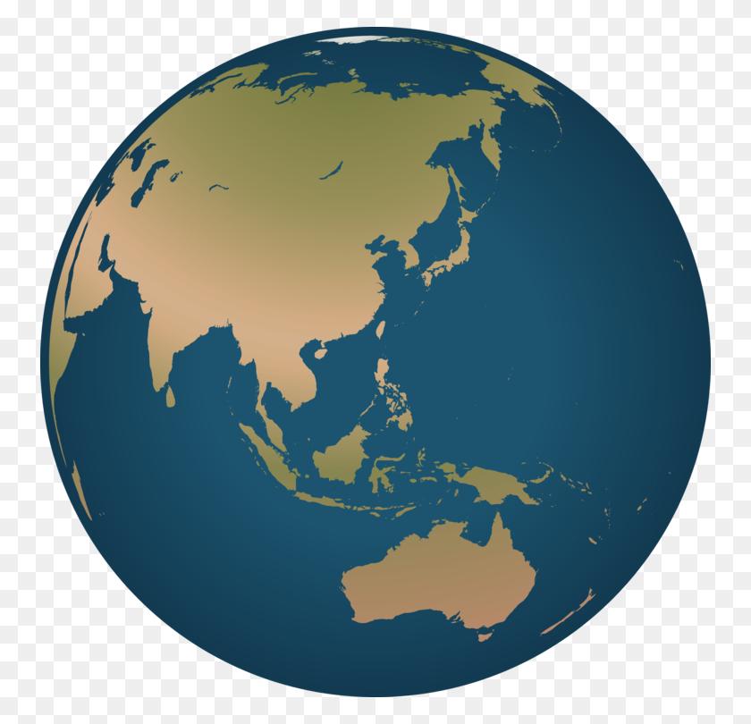 Globe World Map Asia Computer Icons - Snow Globe Clipart