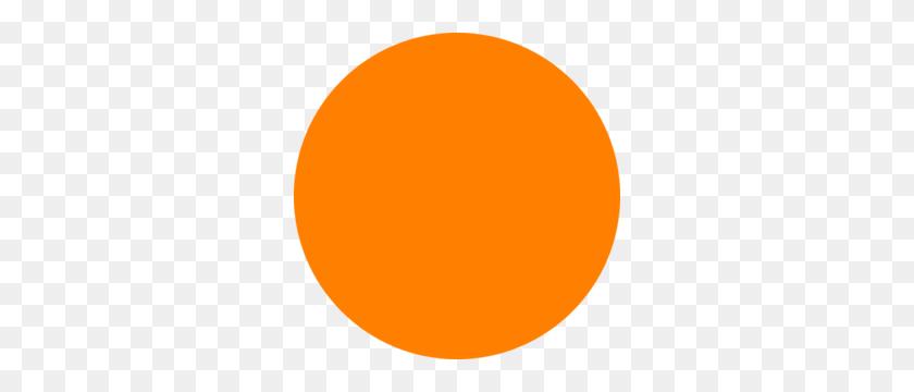 Glossy Orange Circle Icon Clip Art - Orange Circle PNG