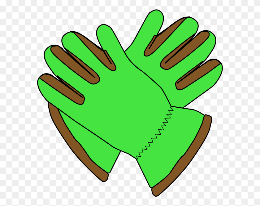 Gloves Clip Art - Mitten Clipart Black And White