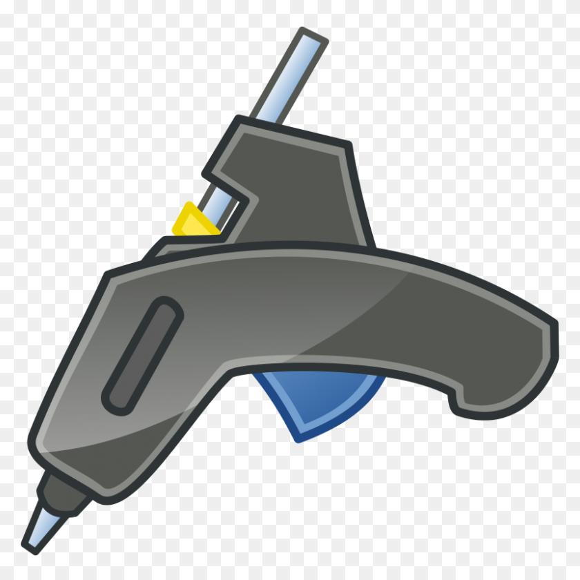 Glue Gun Tango Icon Clipart Disegni X Bambini Glue - Tango Clipart
