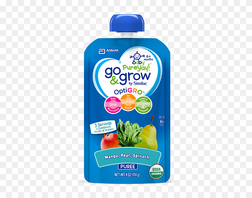 Go Grow - Baby Food PNG