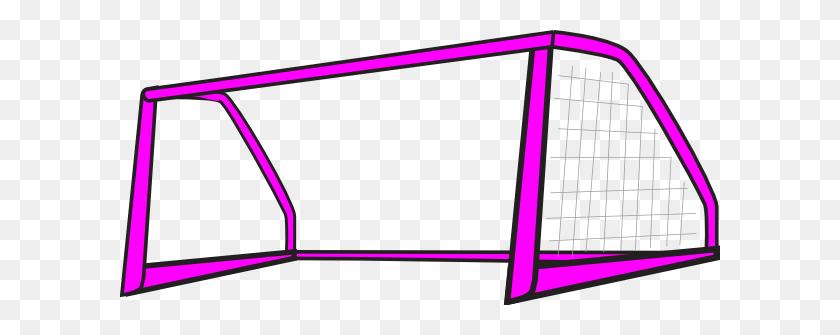 Goal Pink Open Clip Art - Basketball And Hoop Clipart