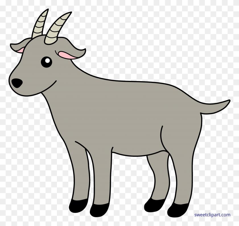 Goat Clip Art - Cow Print Clipart