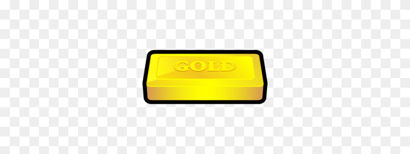 Gold Bar Icon Sleek Xp Basic Iconset Hopstarter - Gold Bar PNG