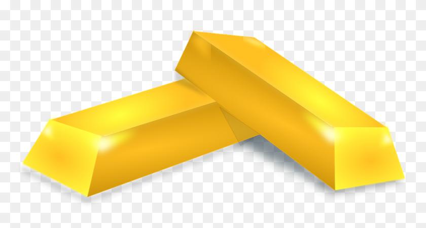 Gold Bar Vector Png Png Image - Gold Bar PNG