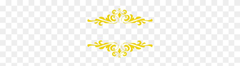 Gold Border Frame Transparent Background Vector Clipart