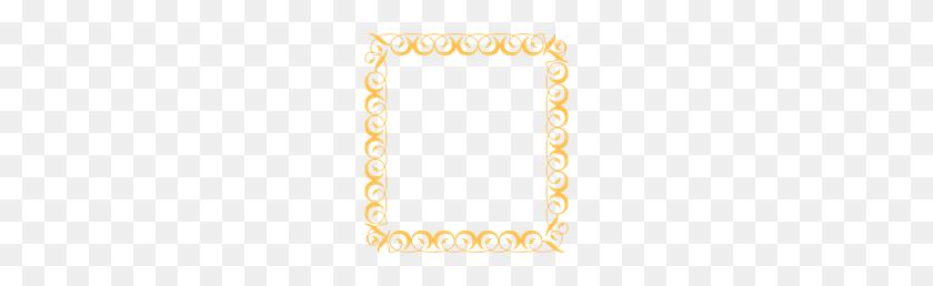 Gold Border Png Clip Arts For Web - Gold Border PNG