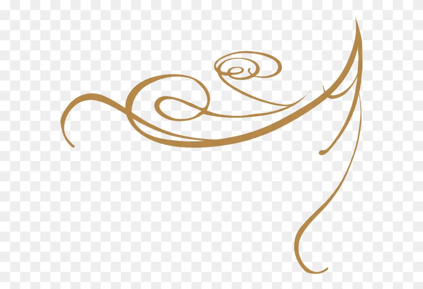 Gold Borders Cliparts - Elegant Borders Clipart