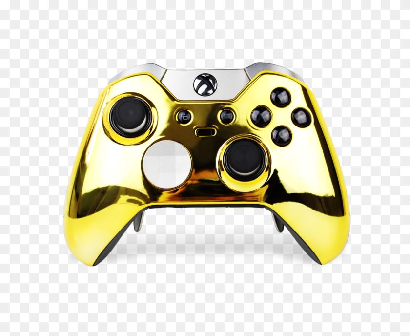 Gold Chrome Elite Xbox One Controller Modz Custom Modded Controller - Xbox One Controller PNG