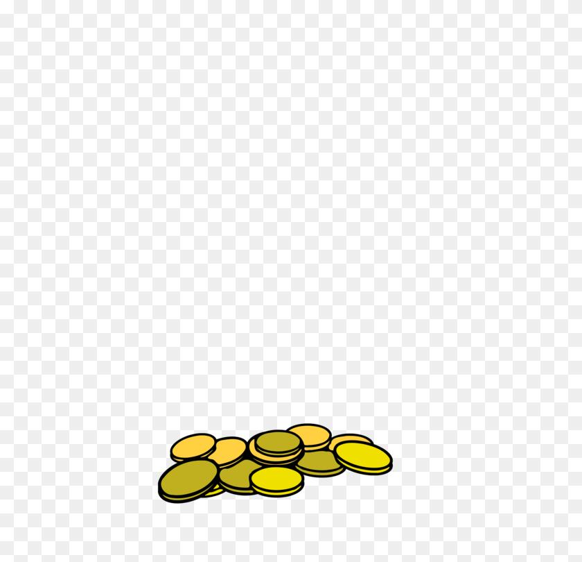 Gold Coin Silver Coin Coin Purse - Silver Coin Clipart