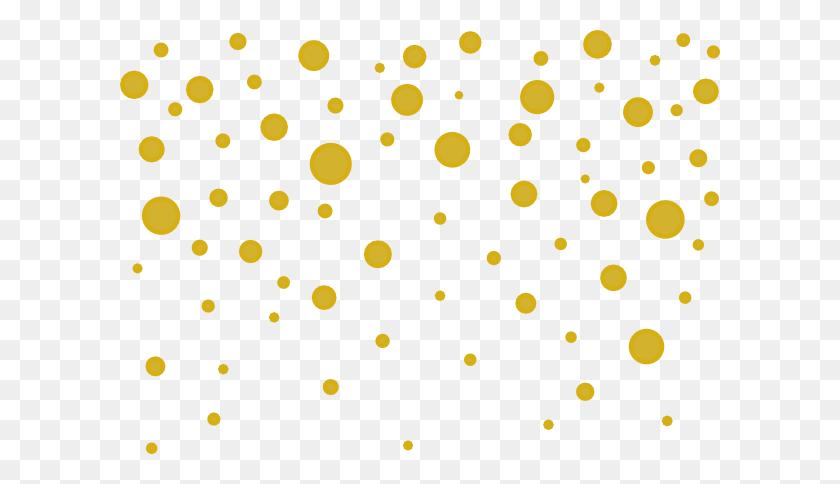 Gold Dots Png Png Image - Gold Border PNG