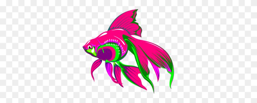 299x276 Gold Fish Clip Art - Free Fish Clipart