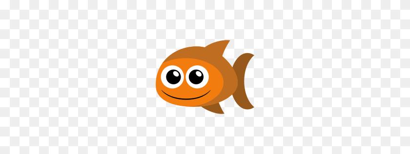 Gold Fish Icon Freebies Fish, Goldfish And Fish - Tuna Fish Clipart