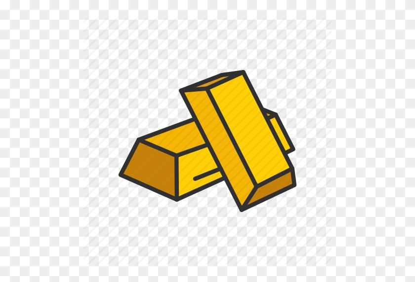 Gold, Gold Bar, Halcyon, Treasure Icon - Gold Bar PNG