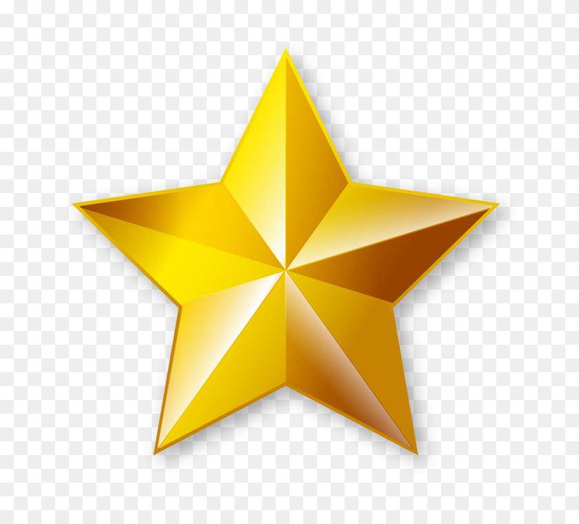 Gold Star Png Transparent Images - Gold Stars PNG