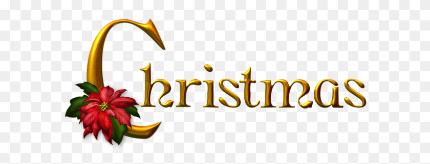 Golden Christmas Png Clipart Christmas - Merry Christmas PNG