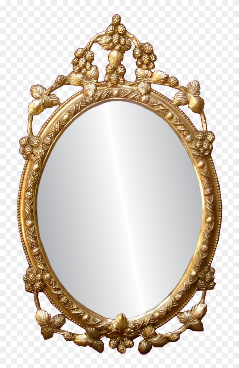Golden Mirror Frame Png Free Download Png Arts - Gold Frame PNG