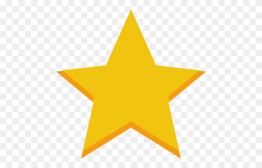 Golden Star Png - Star Sticker PNG