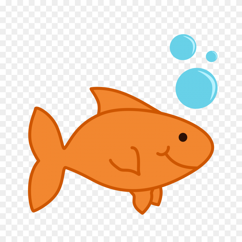 1500x1500 Goldfish Clip Art - Tail Clipart