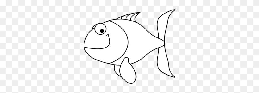 Goldfish Clipart Black And White - Goldfish Clip Art