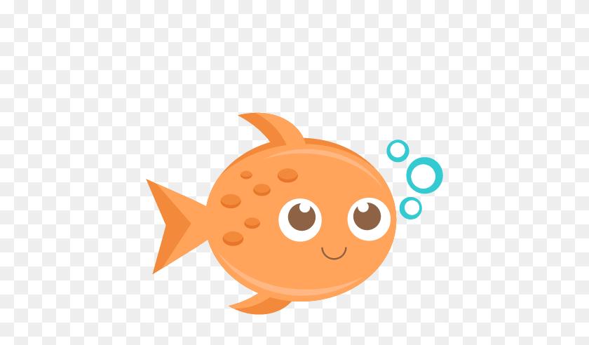 432x432 Goldfish Clipart Colored Fish - Goldfish Clipart