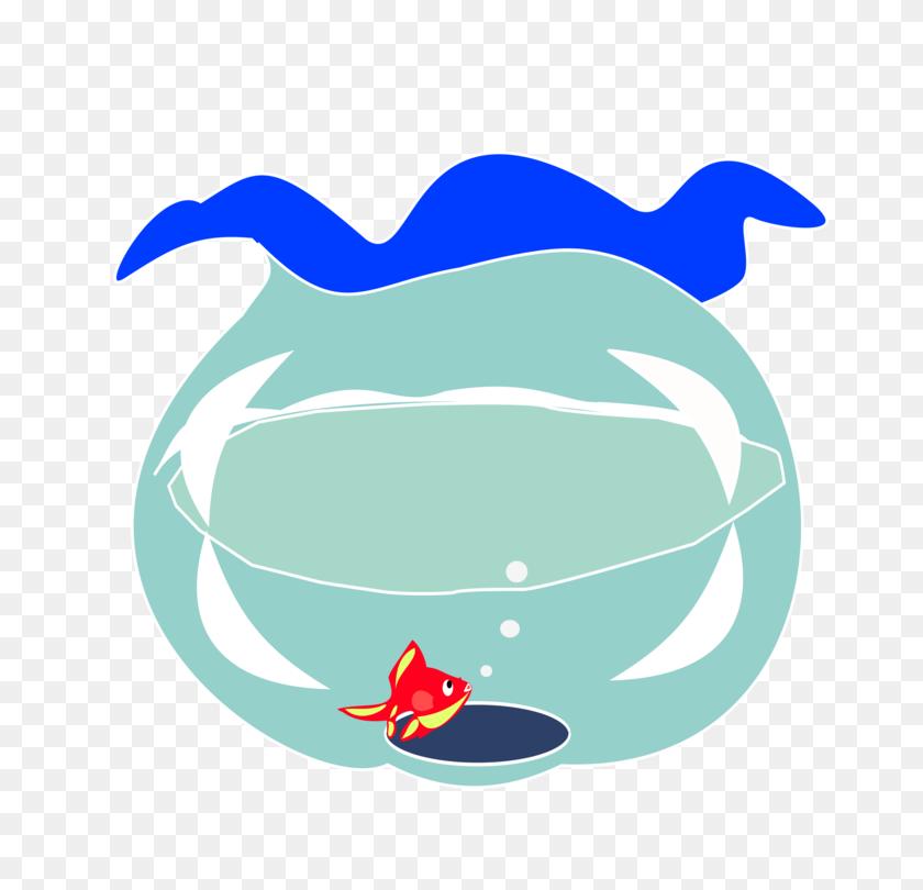 Goldfish Computer Icons Aquarium Line Art Drawing - Aquarium Clipart