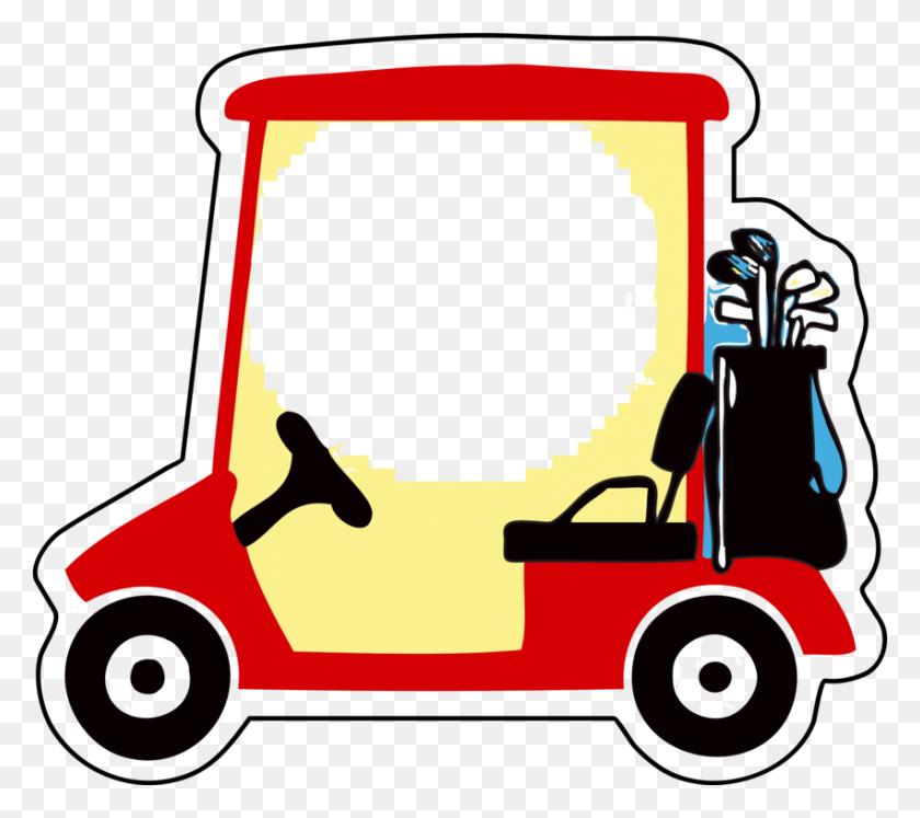 Golf Buggies Golf Clubs Golf Balls Cart - Golf PNG
