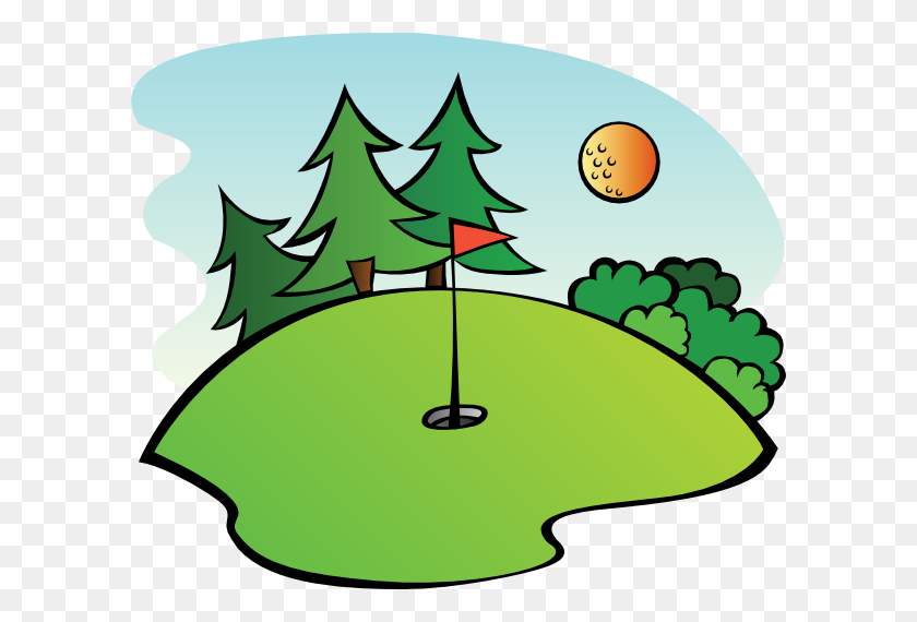 Golf Club Golf Clip Art - Clubhouse Clipart