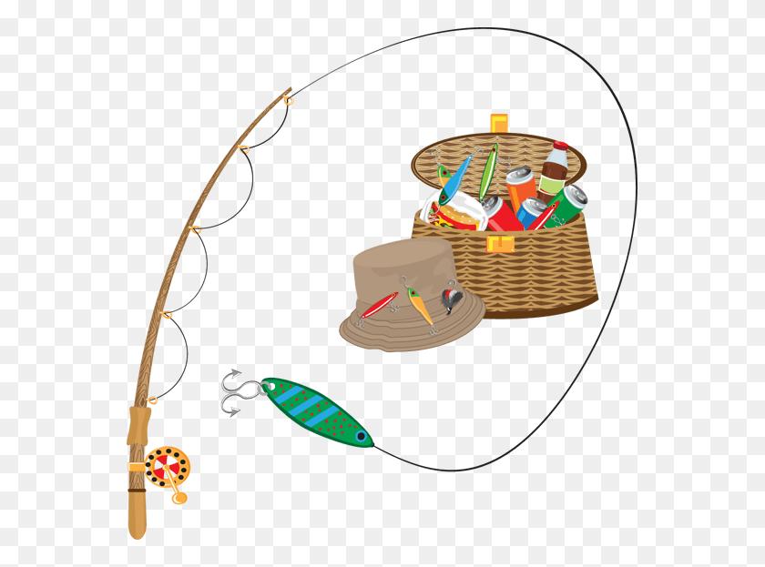 Gone Fishing Cliparts - Man Fishing Clipart