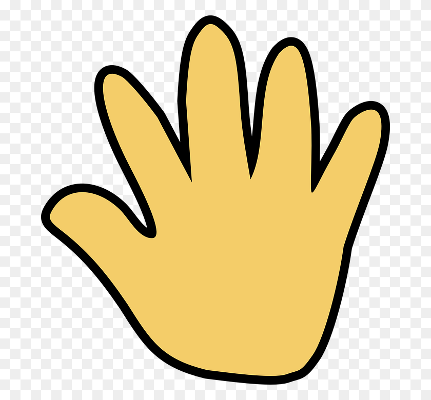 Goodbye Clipart Hand - Wave Goodbye Clipart