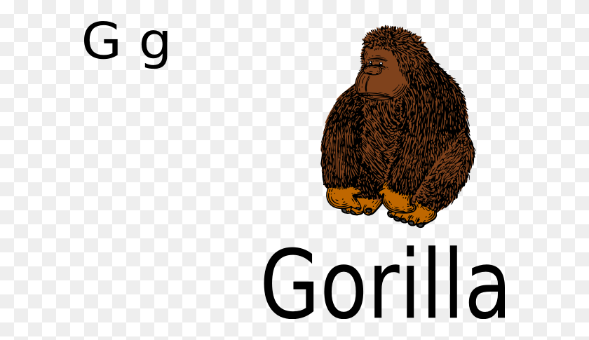 Gorilla Clip Art - Gorilla Clipart