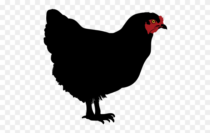 Chicken Drumstick Clipart Black And White